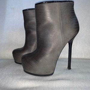 Yves Saint Laurent Platform Ankle Boots